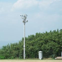 福島県立磐城高等学校様グラウンド電気工事